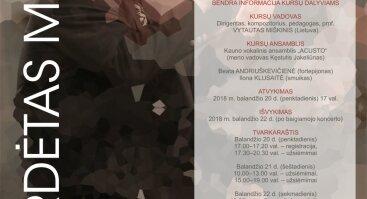 INTERPRETAVIMO KURSŲ BAIGIAMASIS KONCERTAS
