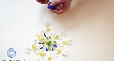 Floristinė mandala: terapinis-kūrybinis užsiėmimas
