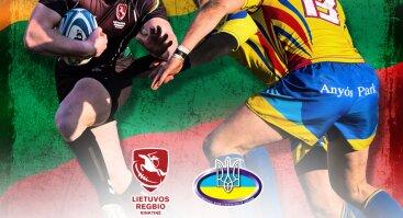 Europos regbio čempionatas: Lietuva - Ukraina