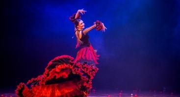 "Flamenko šokio spektaklis ""FIESTA: valgyk, melskis ir mylėk"""
