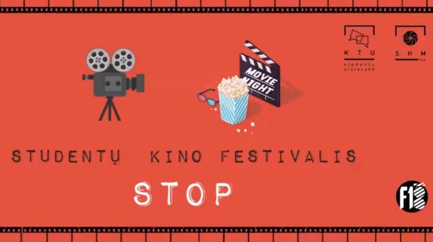 """Studentų kino festivalis """"Stop"""""""