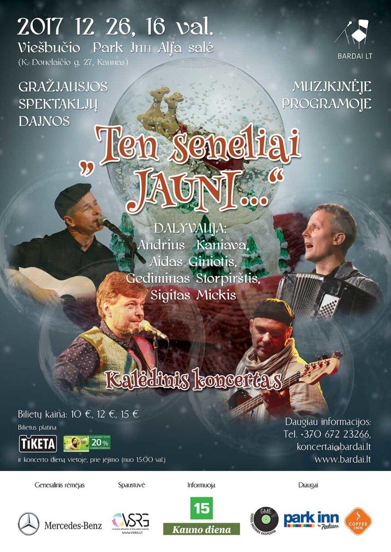 Gražiausios spektaklių dainos TEN SENELIAI JAUNI