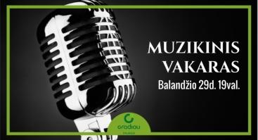 Muzikinis vakaras Gradiali Palanga