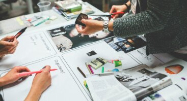 Grafinio dizaino mokymai (juodai balta grafinio dizaino jūra)