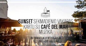 Sunset vakaras su Café del Mar muzika