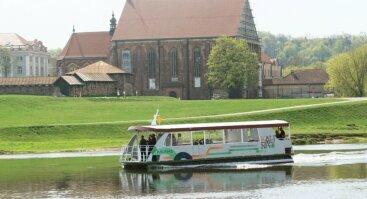 Apžvalginis pasiplaukiojimas laivu Kaunas Nemunu ir Nerimi