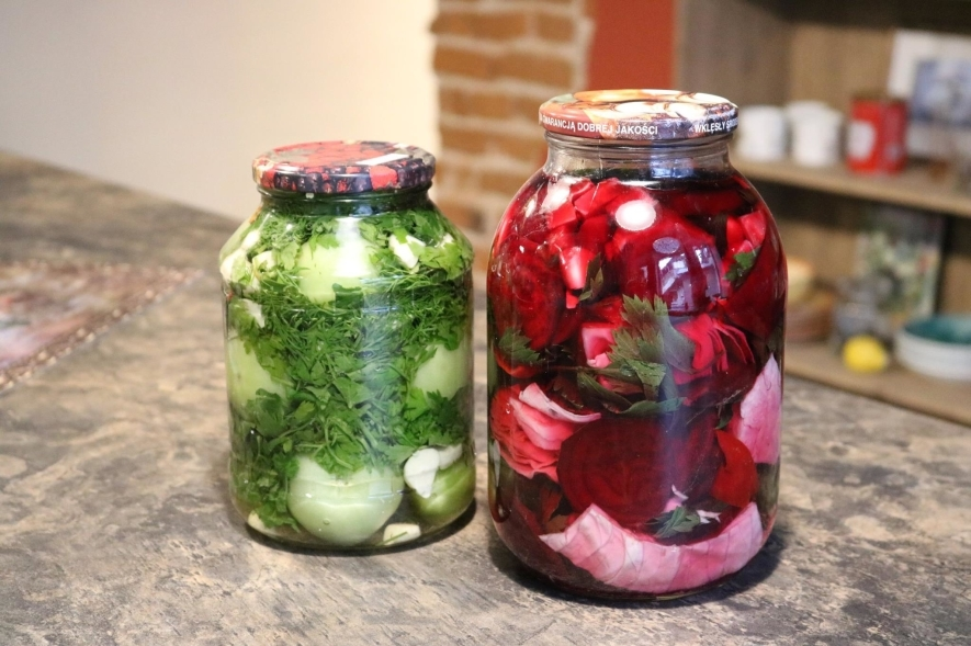 """Gruzinų virtuvės patiekalų mokymai """"Daržovių konservavimas: klasika"""""""