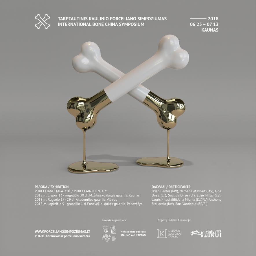 Tarptautinio kaulinio porceliano simpoziumo paroda / Porceliano tapatybė