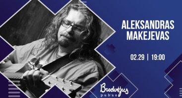 Aleksandro Makejevo koncertas