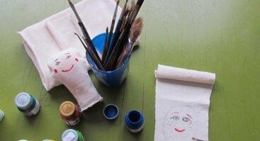 Kūrybos ir darnos grupė mergaitėms ir jų mamoms