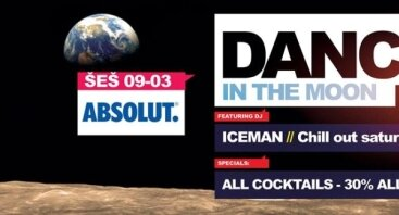 Absolut DANCE in the Moon