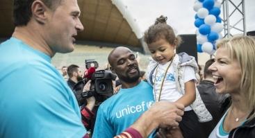 """UNICEF vaikų bėgimas """"Už kiekvieną vaiką"""""""