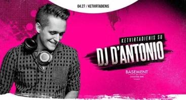 Ketvirtadienis su DJ d