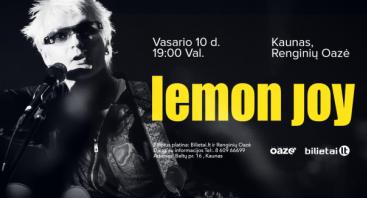 Lemon Joy, Gyvo garso koncertas