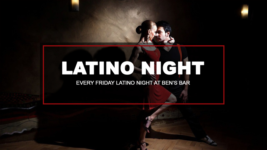 LATINO NIGHT with DJ Carlos Rosas