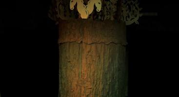 """Mitologinis spektaklis """"Kaukučių nuotykiai Senojoje girioje"""""""