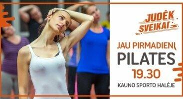 Pilateso treniruotės Kauno sporto halėje