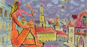 """Ričardo Zdanavičiaus tapybos paroda """"Dialogas"""""""