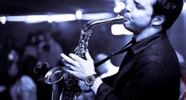 Vakaras su saksofono virtuozu Sergej Vichrov
