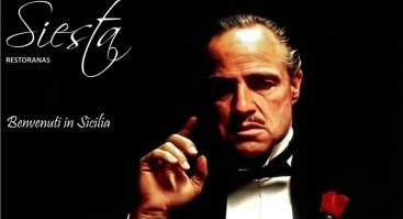 """Sicilietiškas vakaras restorane """"Siesta"""""""
