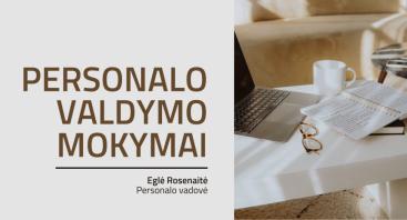 Personalo valdymo mokymai (nuotoliniai)