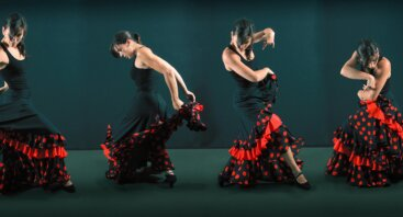 """Arandano Compania Flamenca koncerte """"Retruco"""""""