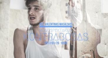 "Klaipėdos jaunimo teatro spektaklis ""Kontrabosas"""