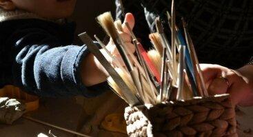 Keramikos dirbtuvės (Vaikai+Tėvai)