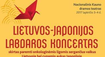 Lietuvos - Japonijos labdaros koncertas