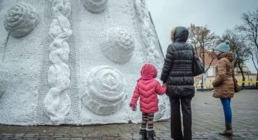 Kalėdų eglutės įžiebimas Kaune