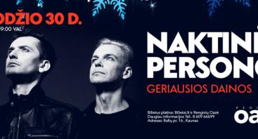 """NAKTINĖS PERSONOS """"Geriausios dainos"""""""