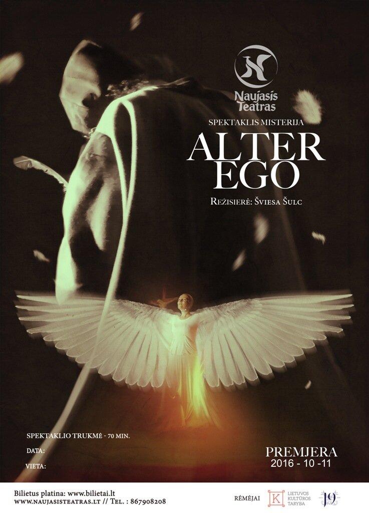 "Naujojo teatro spektaklis misterija ""ALTER EGO"""