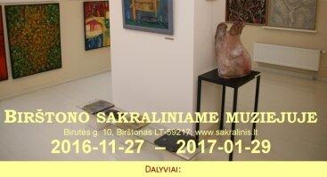 """XIV katalikų dailininkų religinio meno paroda """"Gloria Deo"""""""