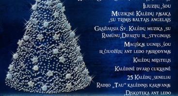 Kalėdų eglutės įžiebimas Raudondvario dvare