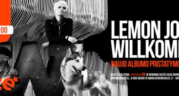"LEMON JOY albumo ""Willkommen"" pristatymas"