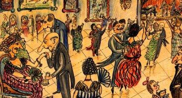 Užburtas vienaragio: Jonas Eustachijus Kosakovskis. Tapyba, piešiniai, smulkioji skulptūra
