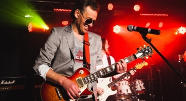 "Hiperbolės legenda Igoris Berinas su grupe ""Huge Soul"""