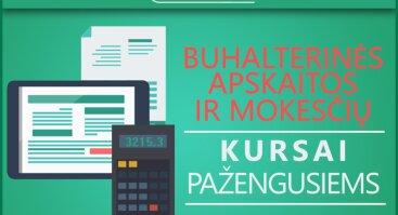 Buhalterinės apskaitos ir mokesčių kursai pažengusiems 2017.09.19-2017.10.26