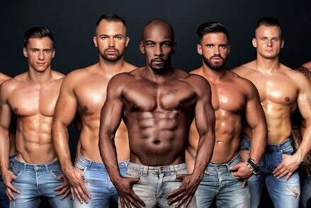 "Erotinis vyrų striptizo šou ""DIRTYY BOYZZ"""