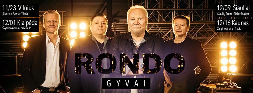 """""""Rondo"""" GYVAI - jubiliejinio turo koncertas"""