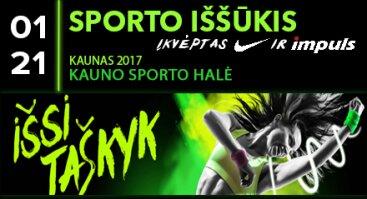 Sporto iššūkis - įkvėptas Nike ir Impuls. Kaunas 2017