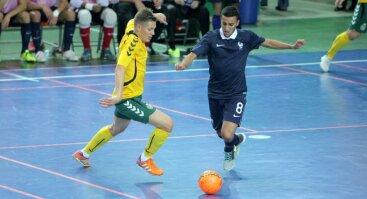 Lietuva - Prancūzija (salės futbolas)