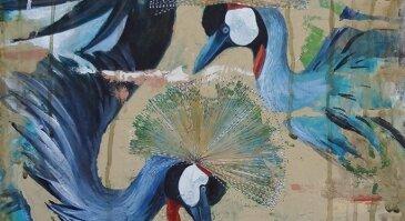 """Ojaro Mašidlausko tapybos darbų paroda """"...ir Angelai"""""""