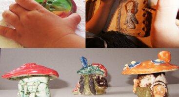 Keramikos dirbtuvės (Tėvai + Vaikai)