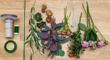 Floristika paprastai ir stilingai: skintos gėlės žydės ilgiau jei...