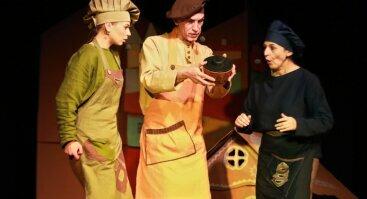 """Muzikinis spektaklis visai šeimai """"Prieskonių indo paslaptis"""""""