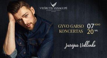 Jurijaus Veklenko gyvo garso koncertas