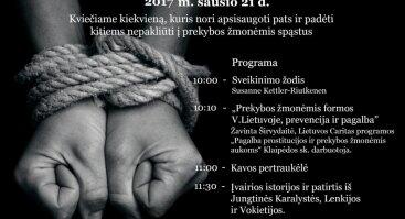 Prekyba žmonėmis - mitai ir faktai