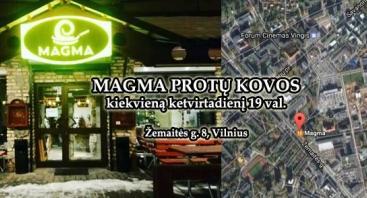 MAGMA PROTŲ KOVOS