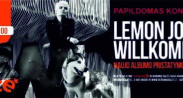 """Lemon Joy"" albumo ""Willkommen"" pristatymas"